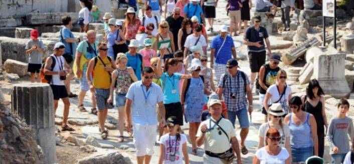 Turist artışı 2019 yılı ve sonrası için umut verdi
