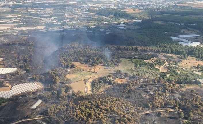 Aksu'daki yangın kontrol altına alındı