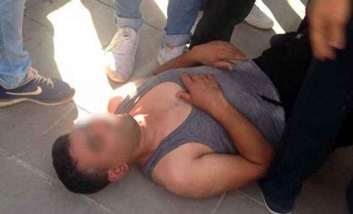Vatandaş tacizciyi sokak ortasında dövdü