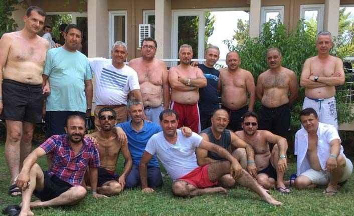 26 yıl sonra Antalya'da buluştular
