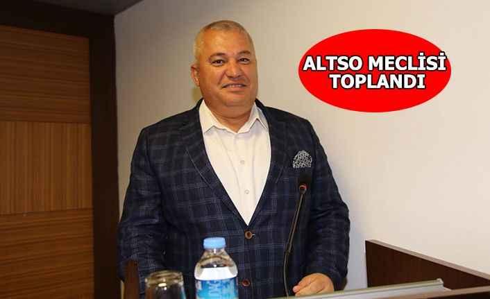 ALTSO Meclisi'nde gündem hanutçuluk