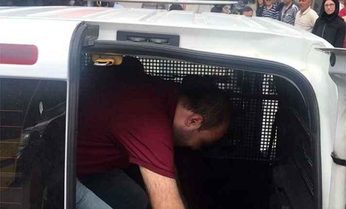 Otobüste taciz iddiasına gözaltı