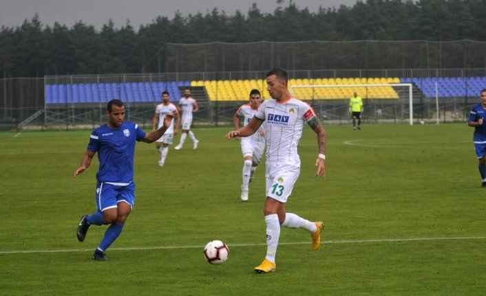 Alanyaspor kaçtı FK Sabah yakaladı 1-1