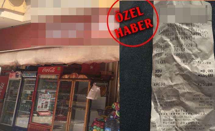 Alanya'da kredi kartı farkı isyanı
