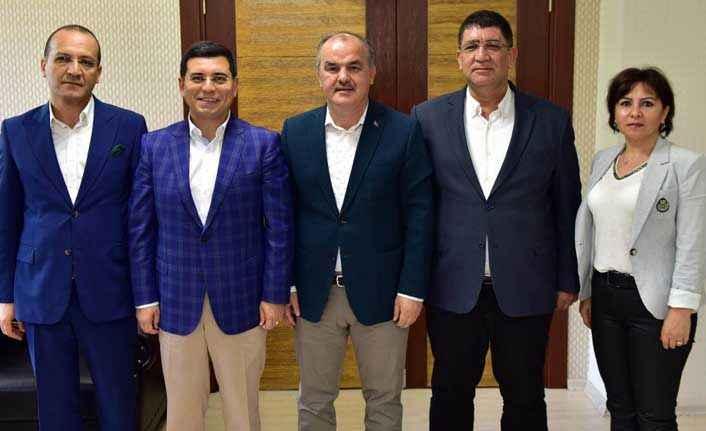Akdeniz Belediyeler Birliği heyeti Denizli'de