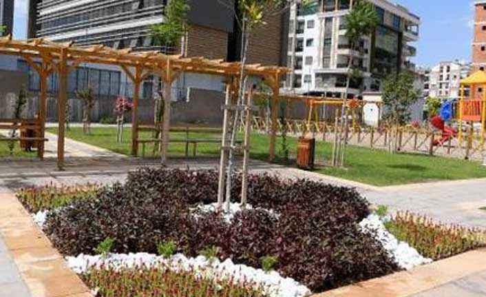 Uncalı'ya modern park