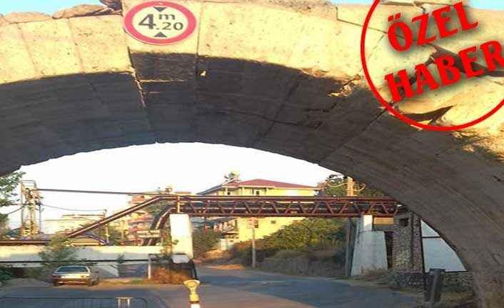 Alanya'da 'Ölüm' köprüsü
