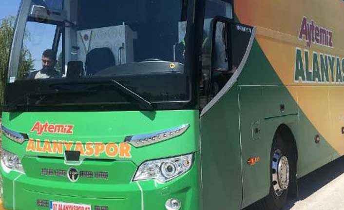 Alanyaspor otobüsüne takograf cezası