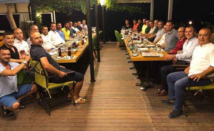 TTPP üyeleri yemekte buluştu