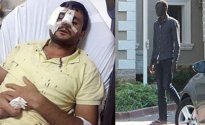 Sudan uyruklu alkollü genç, dehşet saçtı