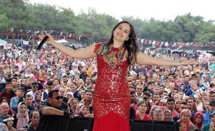 Akseki'de festival zamanı