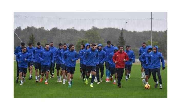 Antalyaspor'da Bursaspor hazırlığı sürüyor