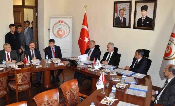 BAKA'nın 2018 yılı son toplantısı Antalya'da