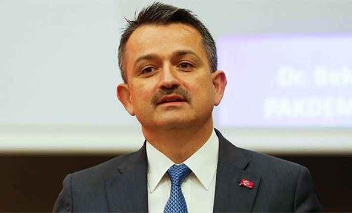 Bakan Pakdemirli: '37 milyon lira hibe verilecek'