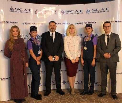 Scat'ın Antalya- Almatı seferleri başlıyor
