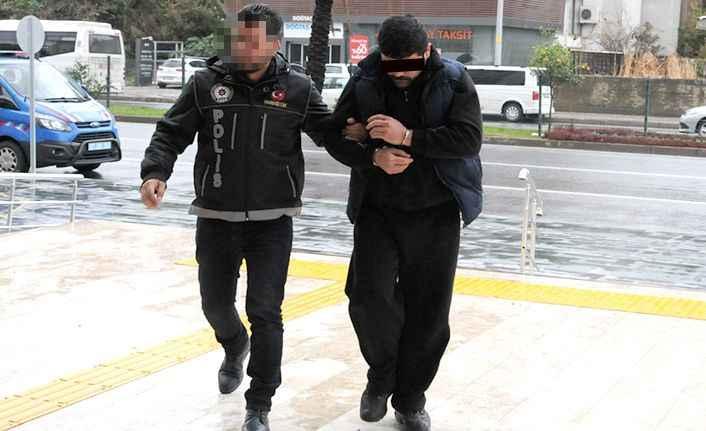 Alanya'da suç makinası tutuklandı!