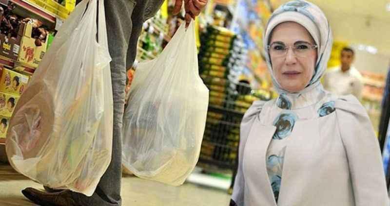 Emine Erdoğan'dan vatandaşa paralı poşet çağrısı