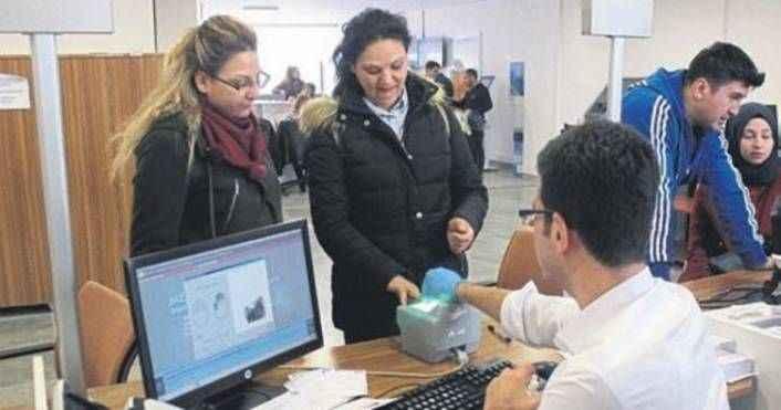 Antalya'da 511 bin kişi çipli kimlik aldı