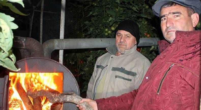 Gazipaşa'da don nöbeti