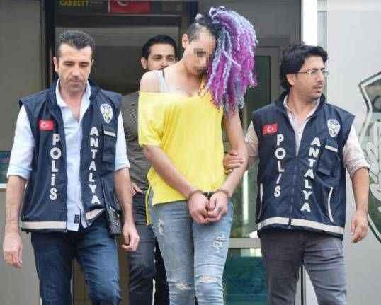 Antalya'da dehşeti yaşatan trans bireye 8 yıl hapis