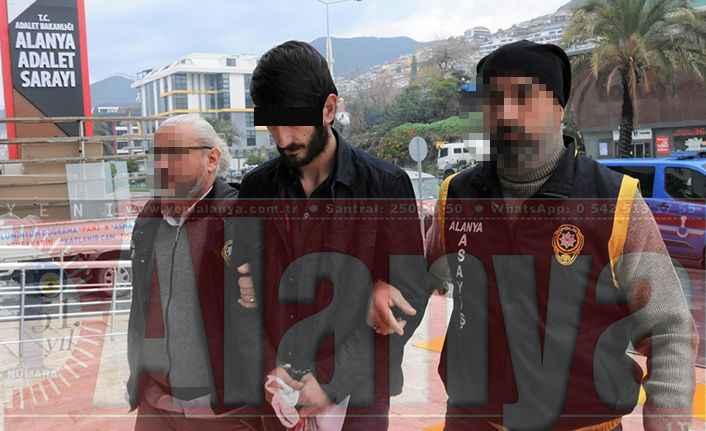 Alanya'da Akü hırsızı tutuklandı