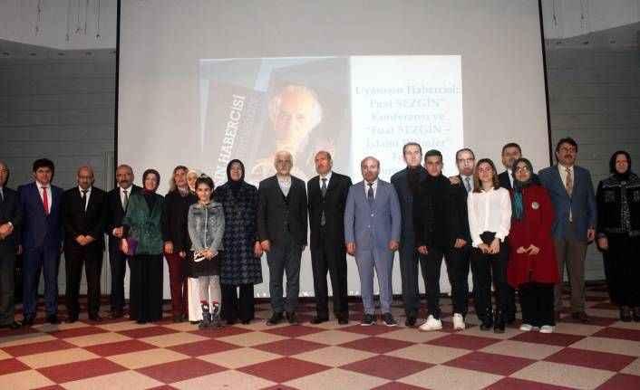 Antalya'da 'Bir Uyanışın Temsilcisi: Fuat Sezgin' konferansı