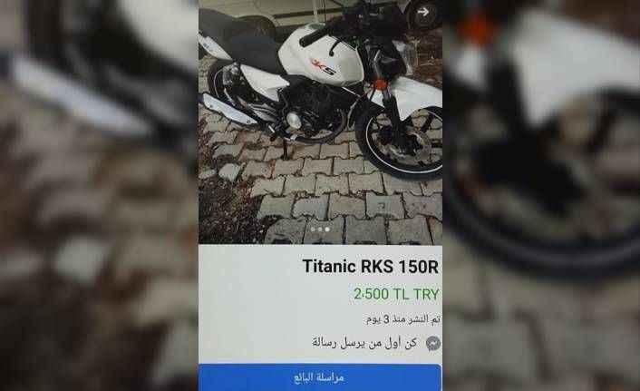 Jandarmanın motosiklet azmi