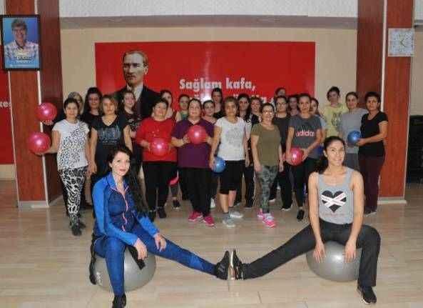 ASFİM'le spor yapıyorlar