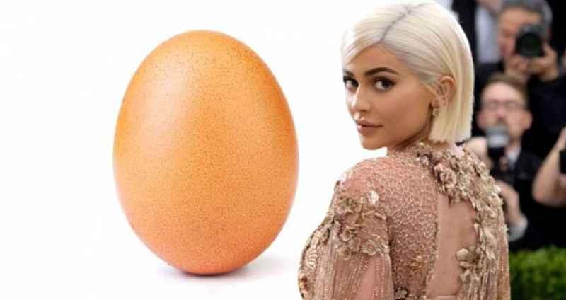Beğeni rekoru kırarak ünlü modeli sollayan yumurtanın sırrı çözüldü!