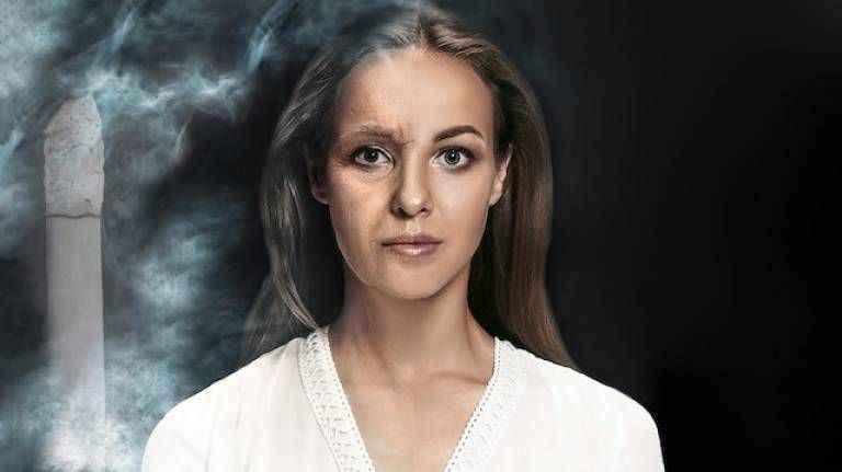 Sigara sedef egzama ve saç dökülmesine yol açıyor