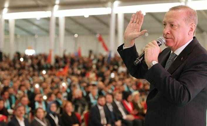 Erdoğan: Halde terör estirenlerin işini en kısa sürede bitiririz