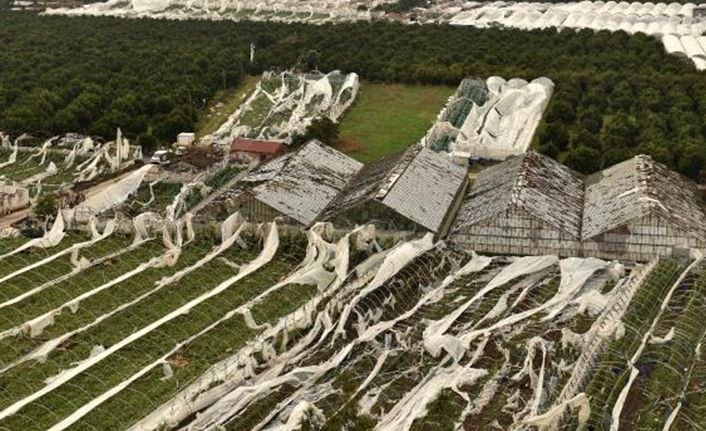 Antalya'daki hortum felaketinin bilançosu belli oldu!