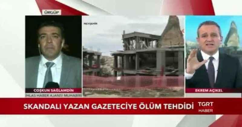 TGC: Gazetecilerin ölümle tehdit edilmesi kabul edilemez