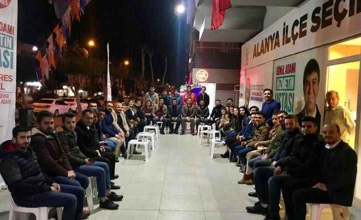 Alanya AK Gençler'den birlik beraberlik mesajı