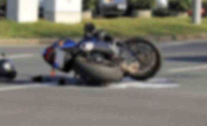 Alanya'da motosiklet kazası! Iraklı turist yaralandı