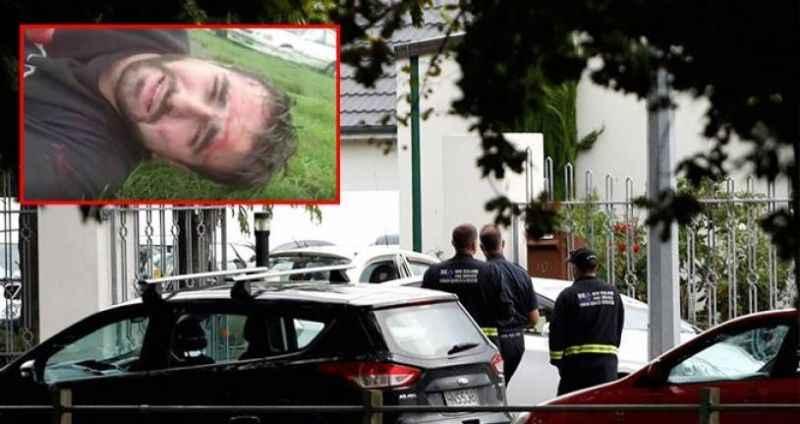 Cami saldırısından yeni görüntüler! Türk vatandaşı çekti