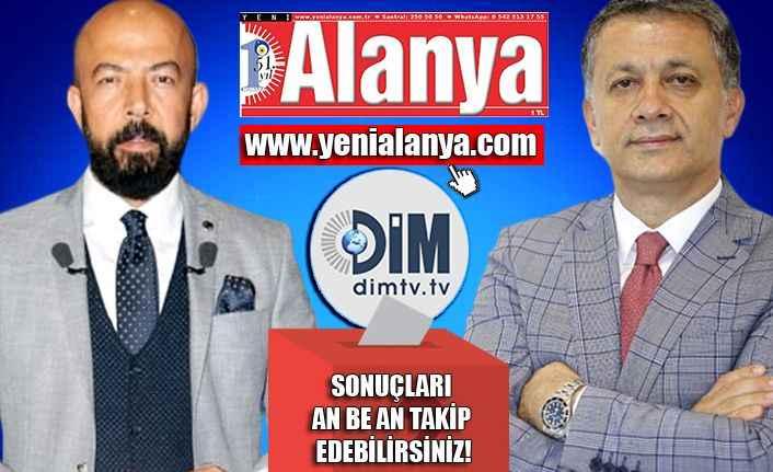 yenialanya.com ve dimtv.tv seçime hazır! Sonuçları an be an izleyebilirsiniz