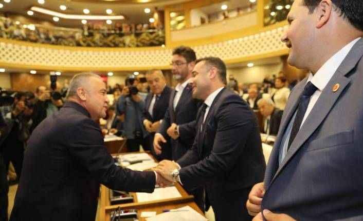 Antalya BŞB'de ilk meclis tamam