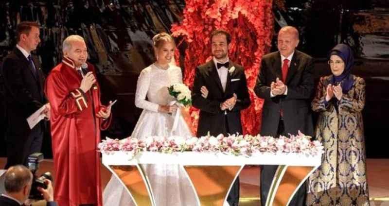 Erdoğan'ın nikah şahidi olduğu yılın düğününde büyük talihsizlik!