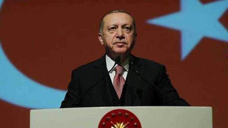 Cumhurbaşkanı Erdoğan'dan Notre Dame mesajı!