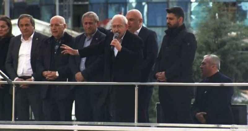 Kılıçdaroğlu şehit cenazesindeki saldırı sonrası partililere hitap etti
