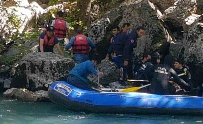 Köprülü Kanyon'da kaybolan üniversiteli gençten kötü haber