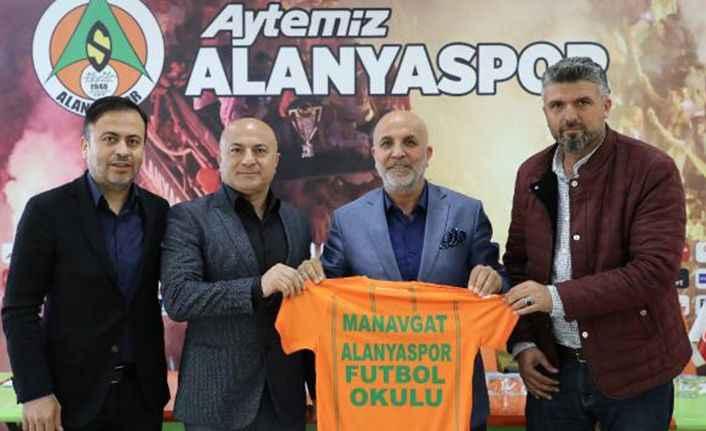 Manavgat'a Alanyaspor Futbol Okulu