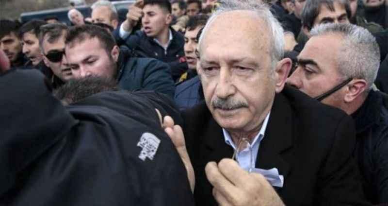 Kılıçdaroğlu, cenazede kendisine saldıranlar için harekete geçti
