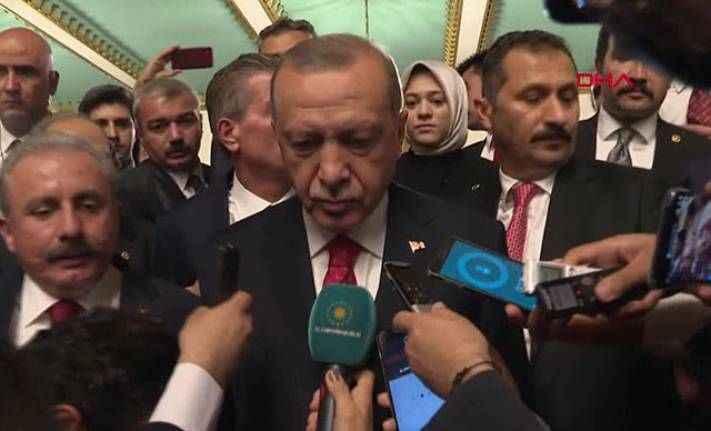 Cumhurbaşkanı Erdoğan: 82 milyonu bir ittifak içinde topluyoruz