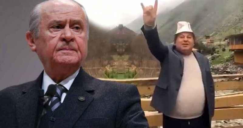 MHP'li vekilin uluduğu videoya Bahçeli'den ilk yorum!