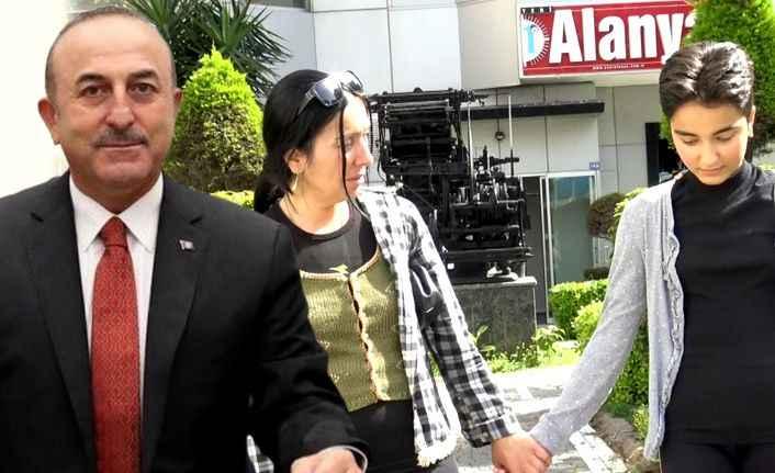 Alanya'daki Azeri anneye Bakan Çavuşoğlu sahip çıktı