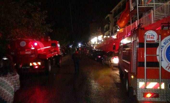 Manavgat'ta otel saunasında çıkan yangın korkuttu