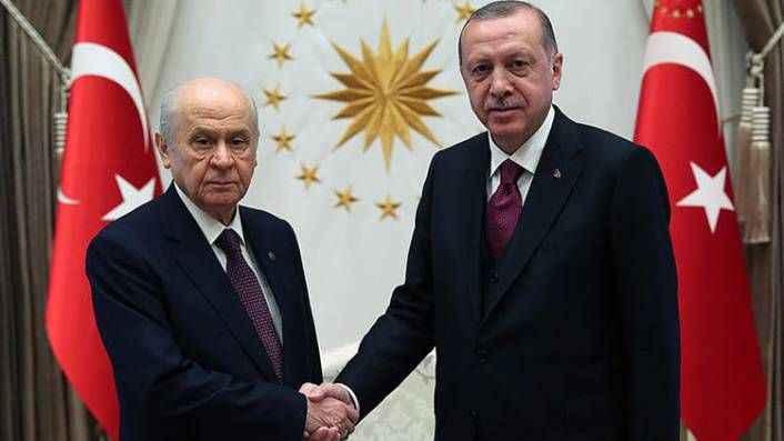 Erdoğan ile Bahçeli'nin oy hesabı farklı çıktı