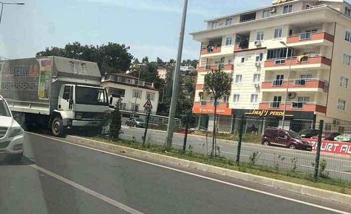 Alanya'da korkutan kaza: 1 yaralı